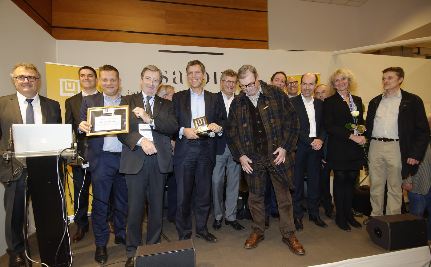 VINCI Construction France distingué au Geste d'Or 2016