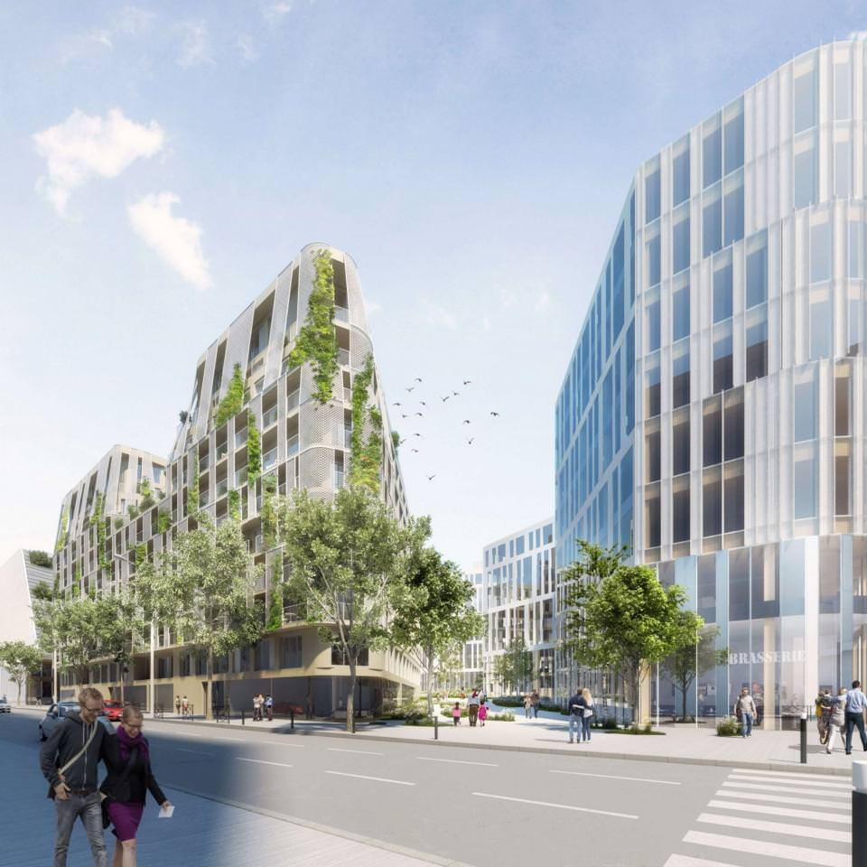 Nouvel ensemble immobilier Origine à Nanterre